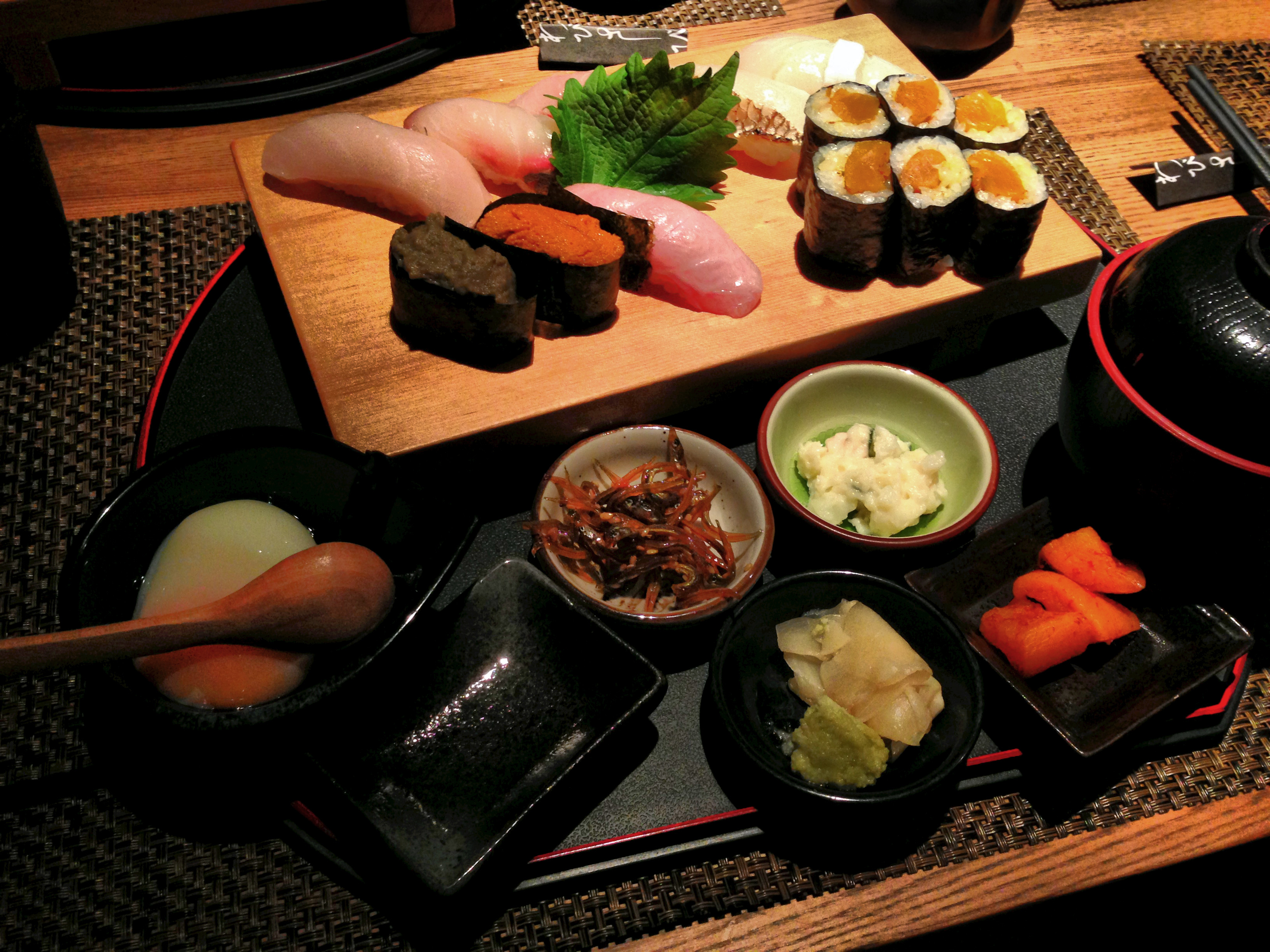 New Lunches in Wabi Sabi. Overview